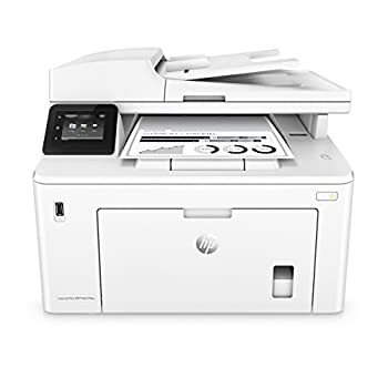 HP LaserJet Pro M227fdw All-in-One Wireless Laser Printer Works with Alexa  G3Q75A  Replaces HP M225dw Laser Printer
