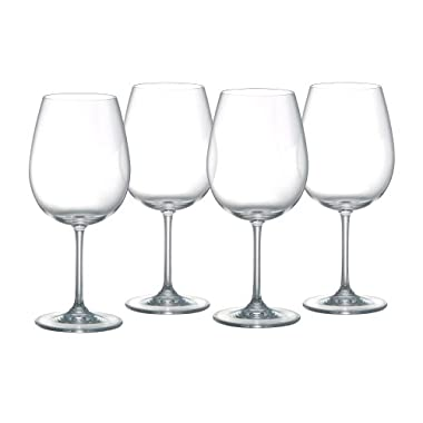 Marquis by Waterford 100-632 Vintage Full Body Red Wine Glasses, Set of 4