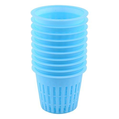 Panier de plantation, Biuzi Plastic Économie d'eau Résistance à la sécheresse Panier de plantation hydroponique léger(Bleu)