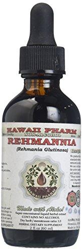Rehmannia Alcohol-Free Liquid Extract, Organic Rehmannia (Rehmania Glutinosa) Dried Root Glycerite 2 oz