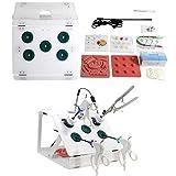 Simulador Laparoscópico Incluye 5 módulos formación Cámara endoscopio HD Caja de Entrenamiento Laparoscópico, para estudiante enfermera Kit de entrenamiento quirúrgico