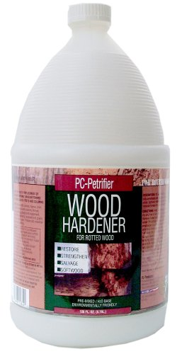 PC Products PC-Petrifier Water-Based Wood Hardener, 1 gal, Milky White 128442
