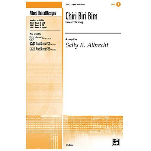 Alfred 00-23612 Chiri Biri Bim - Canción folclórica israelí - Libro de música