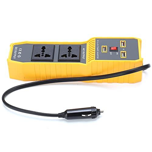 Convertidor De Coche, Transformador De Voltaje De Inversor De Corriente USB De 200W Para Fuente De Alimentación(default)