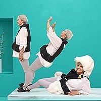 転倒予防 介護用品 頭部保護 脊椎保護 エアバッグジャケット 着るエアバッグ 老人介護 転倒防止 (タイプ1)