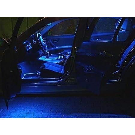 4x Led Blau Innenraum Beleuchtung Set Seat Ibiza 6j Lampen Licht Xenon Auto
