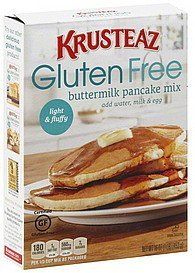 Krusteaz Gluten Free Pancake Mix Buttermilk 16oz Box Pack of 3