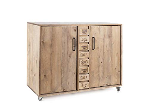 Palettenmöbel Kommode in Palettenoptik Vintage gebeizt. Jedes Möbel ein Unikat und in Deutschland in Handarbeit Hergestellt.