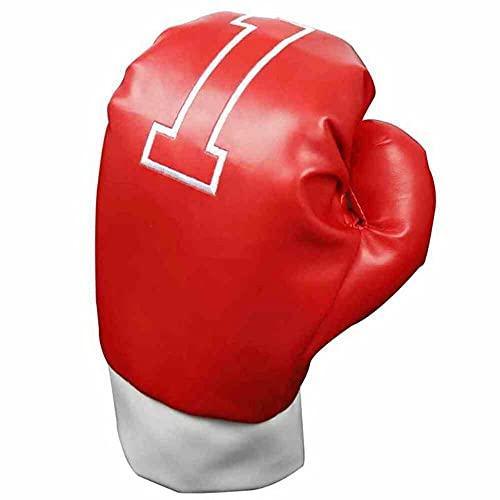LONGRIDGE Schutzhülle für Golfschläger in Boxhandschuh-Design,Rot