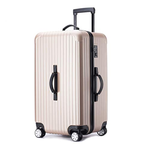 Tik LP Luggage set, Hard shell carry-on suitcase set, rollers, travel expandable lightweight ABS+PC suitcase, 26 inches 28 inches 30 inches 32inches (Color : Natural, Size : 28)