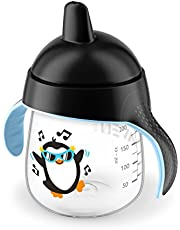 Philips Avent My Penguin Sippy Cup 9oz, Black, 1pk, SCF753/33
