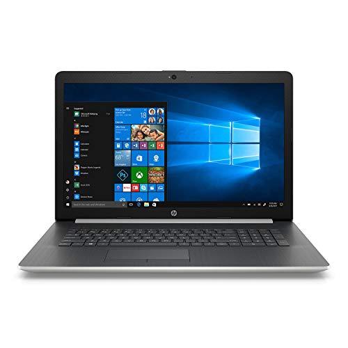 "2018 Newest Premium HP 17.3"" Business Laptop HD+ SVA BrightView Laptop, Intel Quad-Core i5-8250U 1.6GHz 8GB DDR4 256GB SSD+1TB HDD DVD-RW Backlit Keyboard 802.11bgn Webcam HDMI USB 3.1 Win 10- Silver"