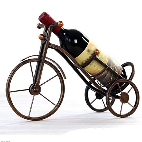 RENSLAT Triciclo Vintage Wine Rack Mejor Soporte for Botella de Vino Creativo Retro Resina de Soporte for el Hogar decoración de la Barra de Vino Titular Decoración