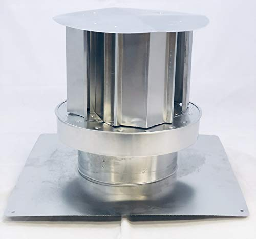 "Trans Continental Equipment 3""-3"" x 35' 3003 Aluminum Direct Vent Co-Linear Kit"