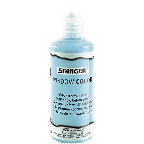 Stanger 300022 Window Color 80ml licht blau t 6 VK, 60 FL/VS