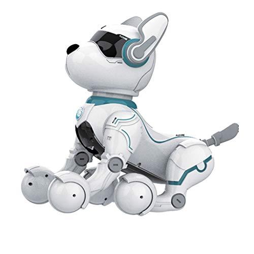 Remote Control Robot Hundespielzeug, Roboter für Kinder ab 2,3,4,5 Jahren, Rc Hundespielzeug für Kinder, Smart & Dancing Robot Toy, Imitierte Tiere Mini Pet Dog-nur auf Englisch sprechen