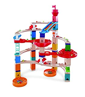 Hape E6024 Quadrilla Super Spirals, Wooden Marble Run - 129 pieces, Educational Construction Toys for 4 Years and Up (B07M7W6WLM)   Amazon price tracker / tracking, Amazon price history charts, Amazon price watches, Amazon price drop alerts