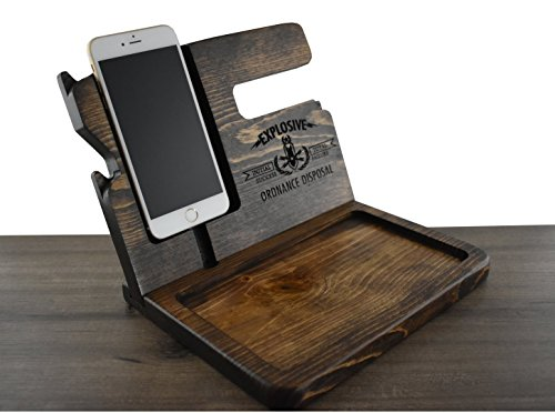 Fathers Day Gift, Wooden Docking Station, Gift for Dad, Gift for him, Gift for Men, Fathers Day gift for him,Fathers Day gift for husband, Fathers Day Gift for Dad, Apple Watch, iPhone