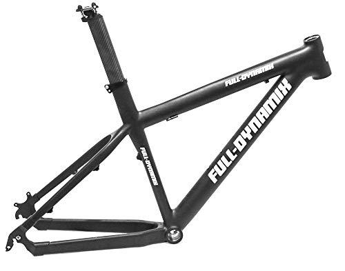 """Full Dynamix 29er Swat 19""""Carbon Mountain Bike Hardtail Frame New"""
