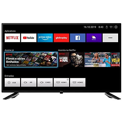 Smart TV PTV32N5SE10H, 32'' Polegadas, Tela LED, Com Conversor Digital, 2 entradas HDMI 2 USB, Philco