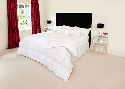 The Natural Bedding Company Hungarian White Goose Feather And Down Duvet - Super King - 10.5 tog
