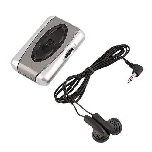 Losenlli Dispositivo de ayuda para audífonos con amplificador de sonido para TV personal Escuchar Megáfono Cuidado del oído para teatros teatrales Iglesia