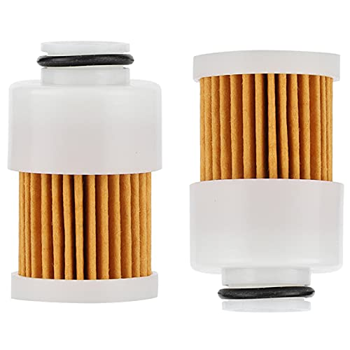 2 Pack 68V-24563-00-00 Fuel Filter Yamaha 50HP 60HP 75HP 90HP 115HP 4 Stroke Outboard Replaces Sierra 18-7979 Mercury 881540 filter 3 Microscopic OE Filtration Rating