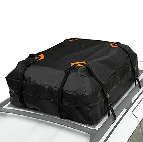 HEZHU Auto Dachkoffer Faltbare 425L Dachtasche, Universale wasserdichte Dachbox für Reisen und Gepäcktransport, Autos, Vans, SUVs