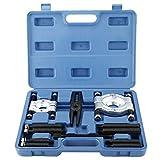 8MILELAKE 12pcs Bearing Splitter Gear Puller Fly Wheel Separator Set Tool Kit, 5 Ton Capacity