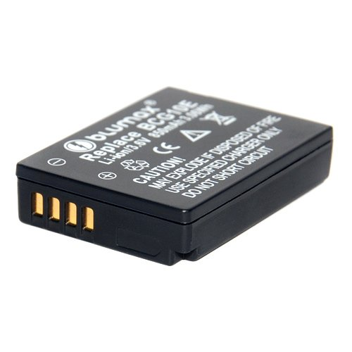 Blumax - Batteria di ricambio DMW-BCG10E per Panasonic LUMIX DMC-TZ31 DMC-TZ 31 DMCTZ31 DMW BCG10E BCG10 DMC 3D1 TZ36 TZ31 TZ25 TZ22 TZ18 TZ10 TZ8 TZ7 TZ6 ZX3 ZX1 - Leica V-Lux 20, V-Lux 30, V-Lux 40