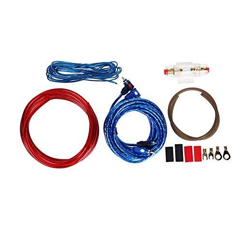 Hifeel versterkerset, kaliber 8 aansluitingen, SoundBox, versterker, installatie, complete kabel