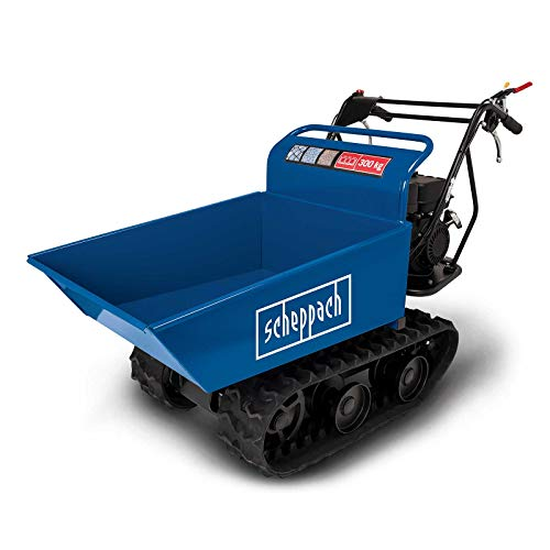 scheppach Dumper DP4000 Profi Benzin-Raupen-Ketten-Dumper| 300 kg Traglast | 5,5 PS | 4,1kw | 196ccm