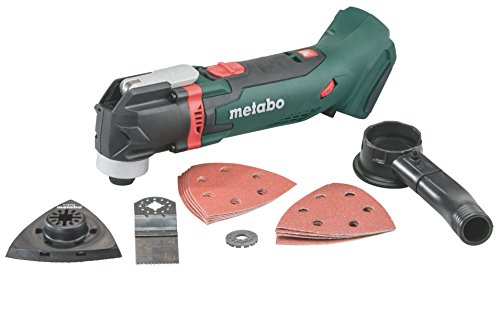 Metabo 613021840 Multitool MT 18 LTX in MetaLoc II, zwart, groen