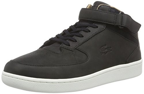 Lacoste Herren Turbo High-Top, Schwarz (BLK 024), 42 EU