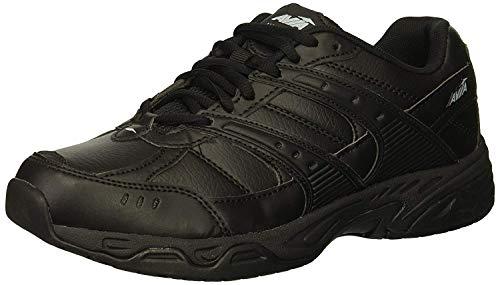 Avia Avi-Union IINon SlipShoes for Women – Comfort Safety Shoes for Work, Nursing, Restaurants, & Walking, Size 8.5, Black
