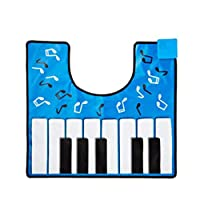 フライングタイガー音がでる PIANO サウンドマットピアノ鍵盤