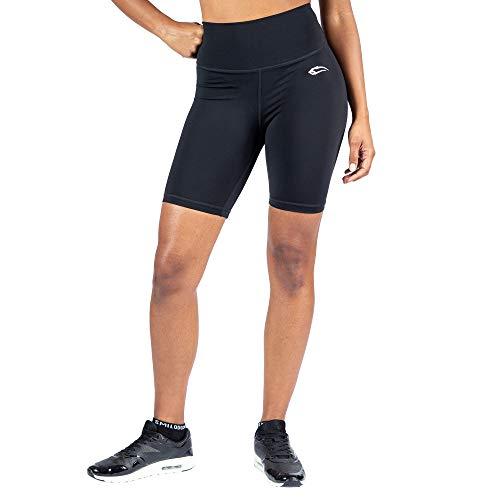 SMILODOX Damen Advanced Shorts Affectionate, Größe:S, Farbe:Schwarz