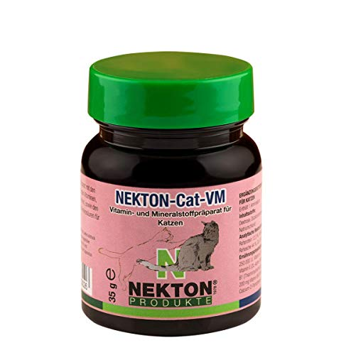 Nekton Cat-VM Feline Vitamin, Mineral and Trace Element Supplement for Daily Maintenance, 35gm