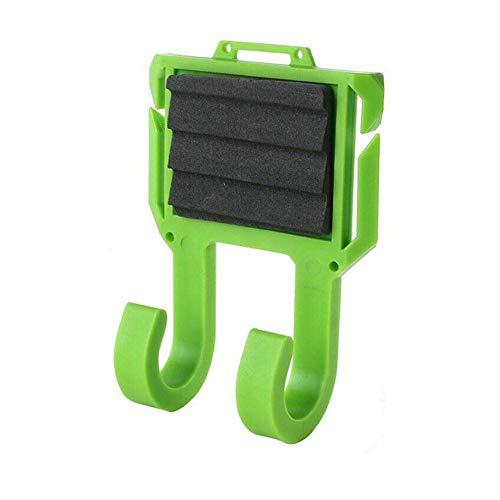 Soporte para caña de pescar, portátil, para caña de pescar con mosca, soporte para cinturón