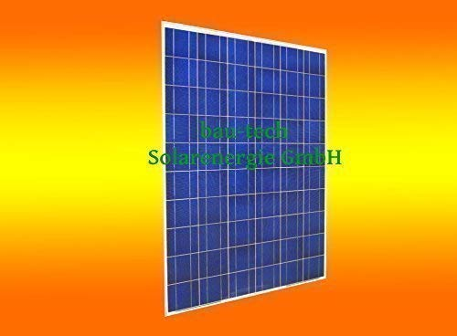 bau-tech Solarenergie 1 Stück 250 Watt Solarmodul Solarpanel Photovoltaik Solarzelle GmbH