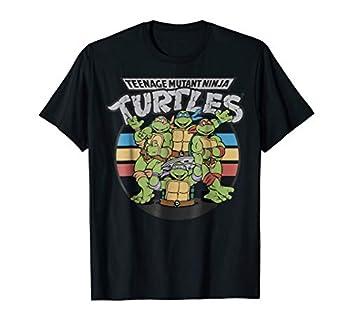 Teenage Mutant Ninja Turtles Retro Spot Logo Tee-Shirt