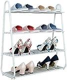 DFVV Estante de Zapatos Zapato Armario con estanterías for el Almacenamiento de los Zapatos for el hogar, Simple Moderna Multifuncional Zapatero, Bandeja de Almacenamiento