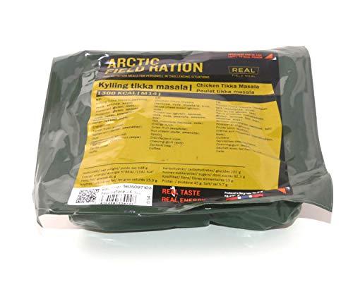 Drytech Arctic Field Ration - Outdoor-Komplettmenü, Geschmacksrichtungen:Hähnchen Tikka Masala