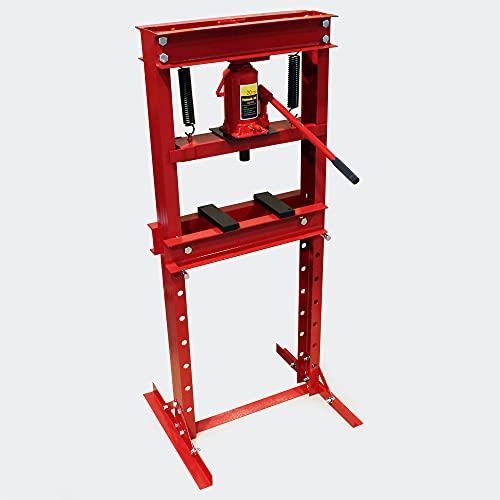 WilTec Presse hydraulique Presse d'atelier Presse à Cadre 20t Pression de pressage