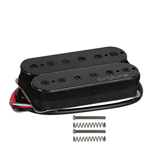 OriPure Alnico 5 Double Coil Humbucker Tonabnehmer für E-Gitarre Ersatz 14K, Brücke
