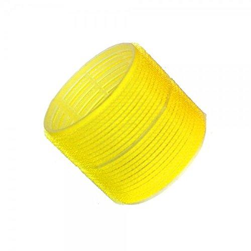 Hair Tools Klammern Lockenwickler - Jumbo Gelb 66 mm x 6
