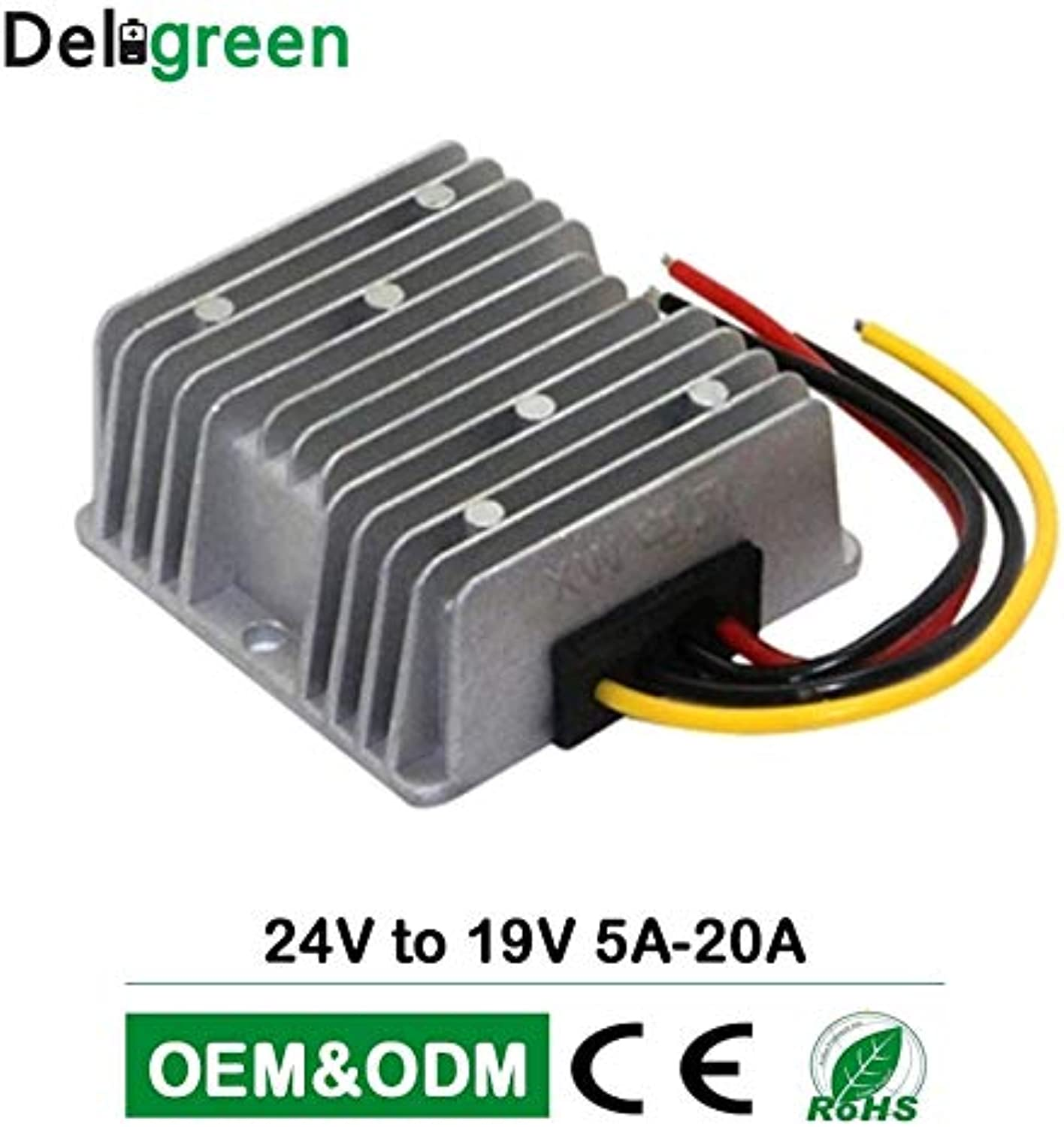 Laliva Plugs  93% Effeciency 24V to 19V 5A 10A 15A 20A Hight Voltage DC Step Down Congreener in Intergrated Circuits  (Standard  19V5A)