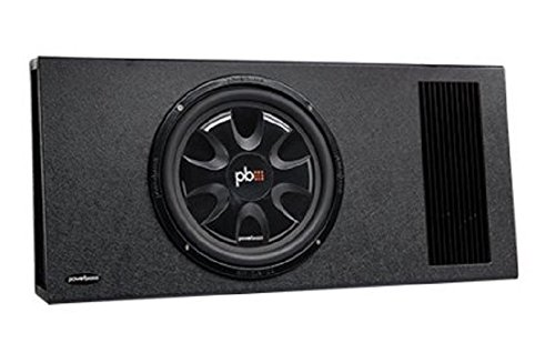 Powerbass PS-AWB121T Single 12-Inch 200 Watt Thin Amplified Enclosure