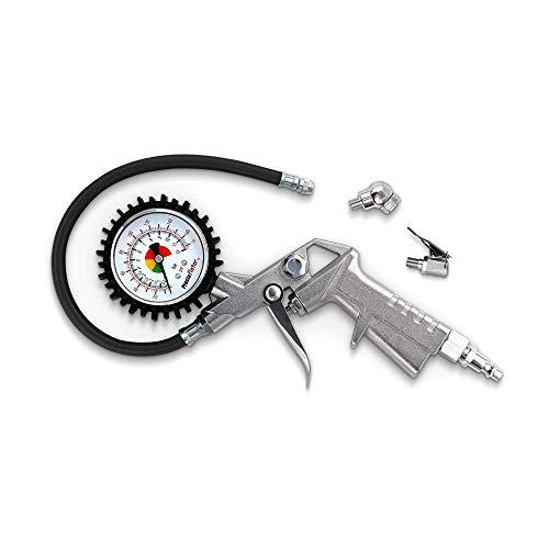 Prestaflator - Bicycle Tire Inflator - Presta and Schrader Air Compressor Tool (Standard)