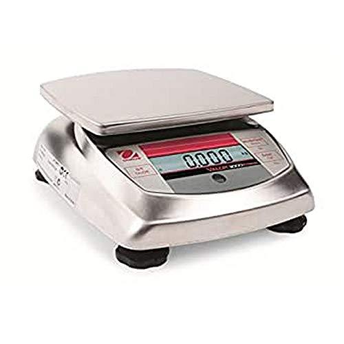 OHAUS V31X3 Valor 3000 - Escala de banco, capacidad de 3 kg, legibilidad de 1 g